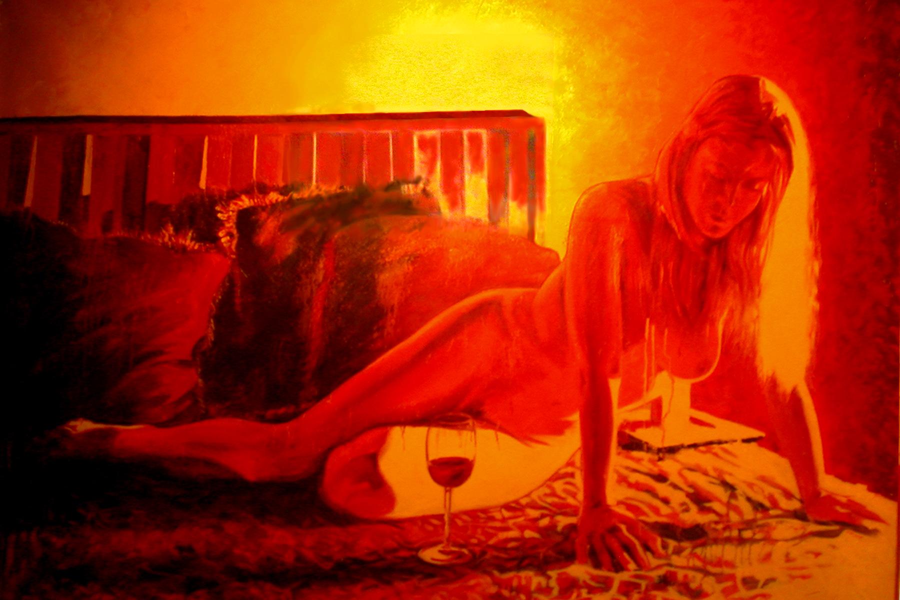 Dusk oil on canvas $2000.00