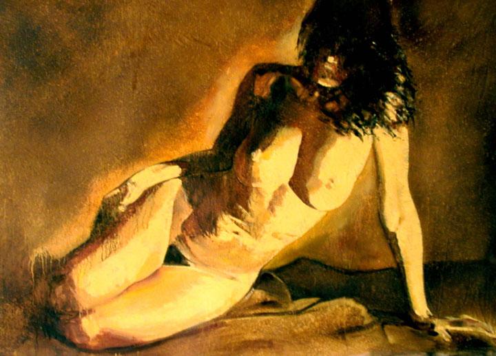 Twilight Oil on canvas $4500.00